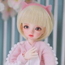 Jointed Doll Shuga Fairy Girl Resin for Kids Gift YOSD Toys Ginger 26cm-Ball Children