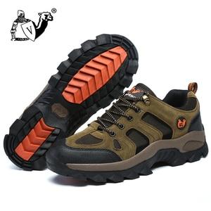 Image 5 - גברים נשים חיצוני ספורט נעלי הליכה לנשימה הרים טיפוס נעלי טרקים סניקרס קלאסי מזדמן מגפי זוג מתנה