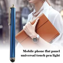 1 Pcs Capacitieve Touchscreen Stylus Pen Voor Iphone Ipad Ipod Touch Pak Voor Andere Smart Phone Tablet Metalen Stylus potlood(China)
