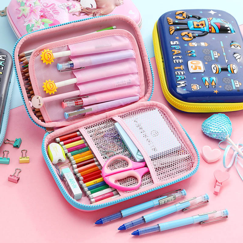 Kawaii Multifunctional Pencil Case Cute Large Capacity Case Create Pencil Box For Girls Gifts School Office Supplies Stationery