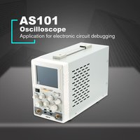 OWON AS201 20MHz 100MS/s Single Channel LCD Digital Oscilloscope Scopemeter Norm/Auto/TV Run/Stop Sale