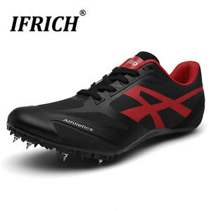 Shoes Spikes Track Sports-Sneakers Sprint Field Jumping And Men with Boys Girls Man Professional