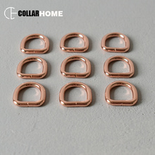 Metal buckle D rings DIY dog collar sewing accessories 15mm backpack strap bag mountaineering bag parts Dee ring connect buckle все цены