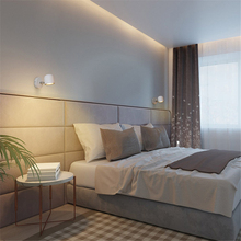 LED wall light Nordic simple modern wall lamp mirror light aisle living room bedroom bed reading wall sconce AC85-265V