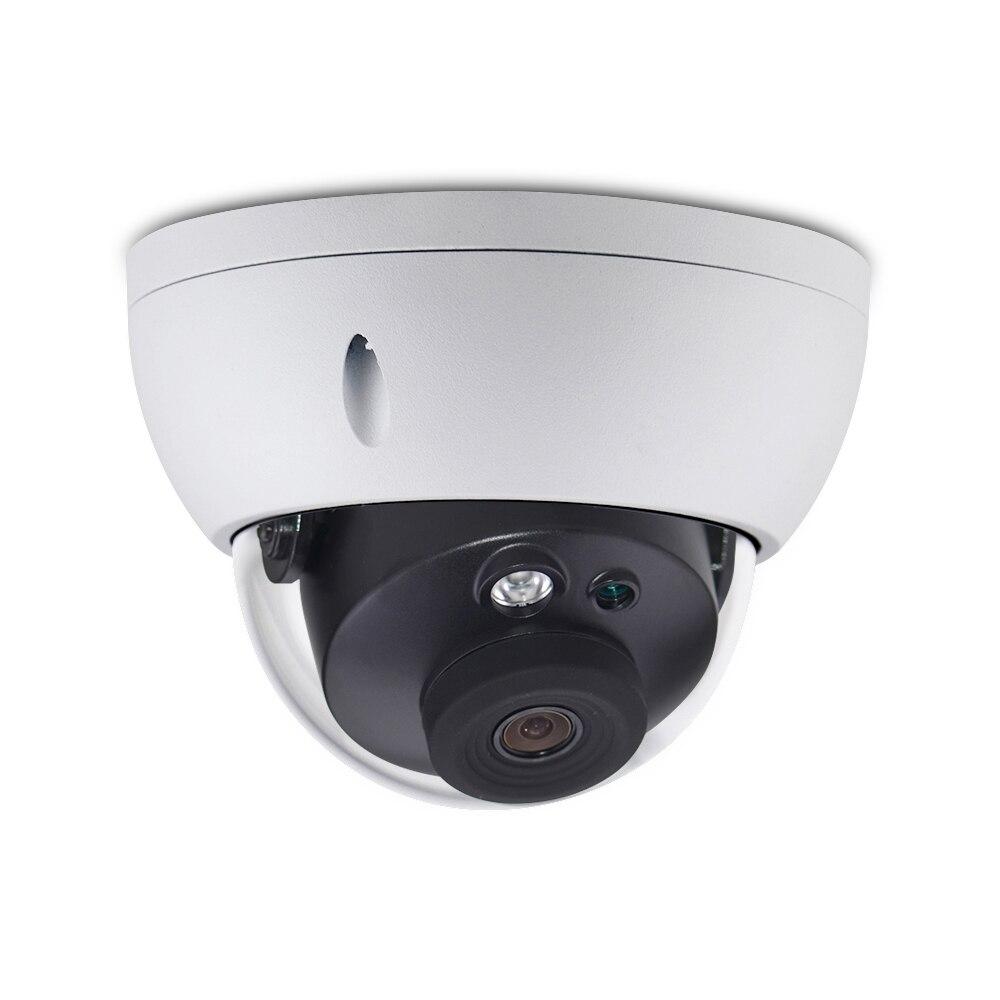 Großhandel DH Dome Kamera IPC-HDBW4433R-AS 4 Teile/los 4MP IP Kamera Unterstützung Audio Und Alarm TF Karte PoE Für CCTV System IK10 IP67