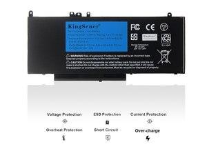Image 2 - Kingsener bateria para laptop g5m10, bateria portátil para dell latitude e5250 e5450 e5550/2/1ky05/7.4v/5wh, ferramenta grátis