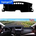 Tablero de coche evitar almohadilla de luz instrumento plataforma cubierta de escritorio alfombras accesorios de automóvil diseño de coche para Jeep Compass Wrangler|Pegatinas para coche| |  -