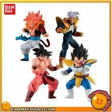 BANDAI figura realista de juguete de alta calidad, 4 piezas, juego completo de 4 piezas, Gogeta, Gokou, karotto, bebjita
