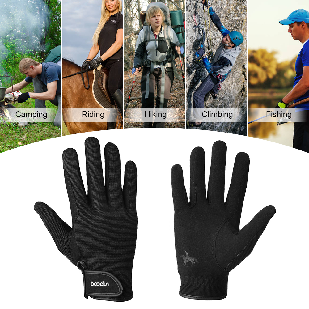 Horse Riding Gloves Professional Equestrian Horseback Riding Gloves Men Women Unisex Baseball Softball Sports Gloves