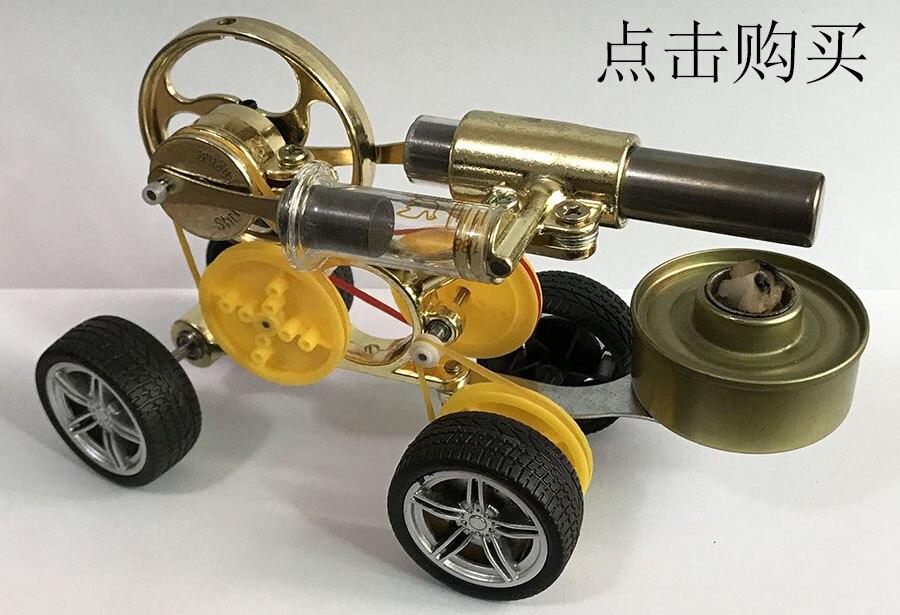 Mini motor stirling mini vapor energia física