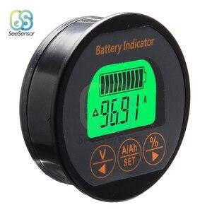 Image 2 - Medidor de voltagem dc 8 80v, bateria de 50a 100a 350a, testador de voltagem, medidor de corrente, capacidade da bateria, monitor indicador, amperímetro