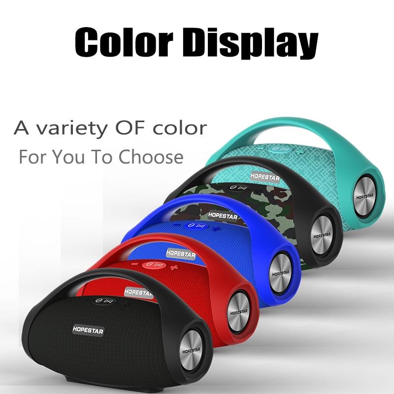 Image 5 - HOPESTAR H32 Powerful Bluetooth Speaker Waterproof Music Column  3D Stereo Speakers Portable Outdoor Wifi Wireless BoomboxPortable  Speakers