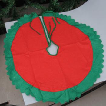 Włókniny spódniczki na choinkę ozdoby na choinkę choinka okładka dekoracje na imprezę dostawy czerwony zielony prezent tanie i dobre opinie LAIMALA CN (pochodzenie) Włókniny tkaniny BS873289