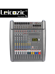 Leicozic Mixer Console Powermate Professional 1000w--2 8-Channel 4OHMS