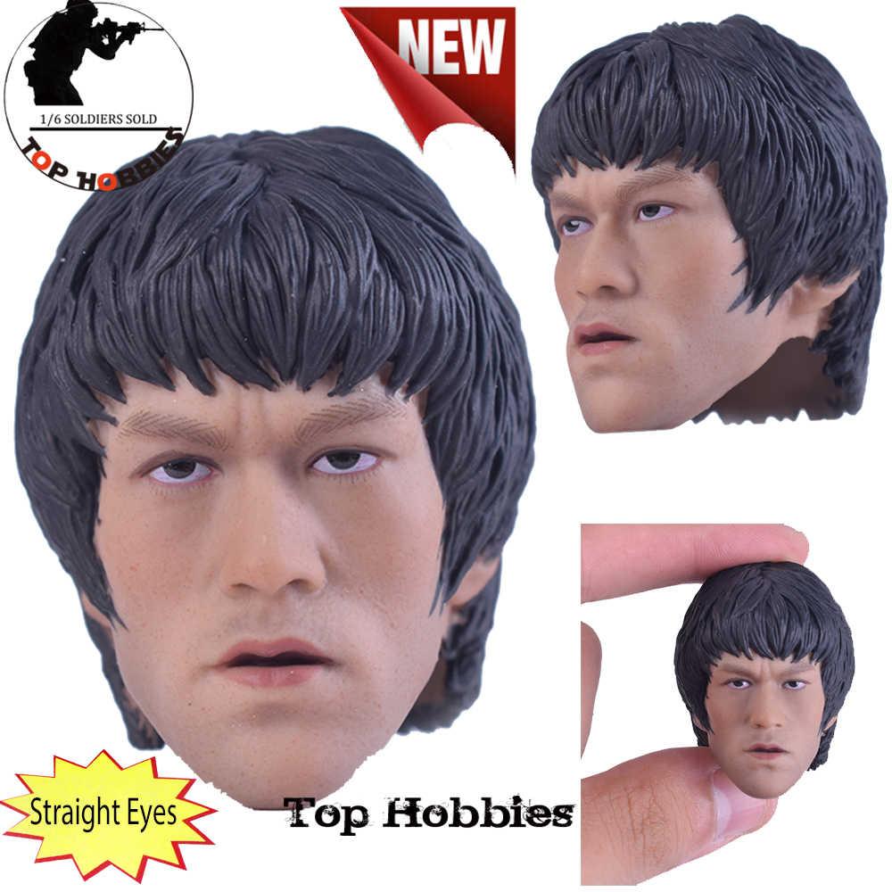 IN STOCK 1//6 BRUCE LEE/'s 78th Anniversary Dual-Head Action Figure Model FullSet