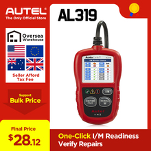 Autel AutoLink AL319 автоматический диагностический инструмент OBD2 считыватель кода autel al319 сканер automotriz считывание и стирание кода PK elm327 ML319