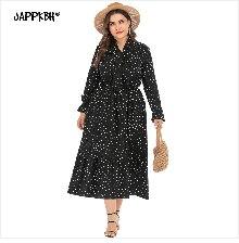 Autumn Winter Coat Women 2019 Casual Vintage Patchwork Cloak Plus Size Coats Female Elegant Warm Black Long Coat casaco feminino 35