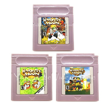 Console-Card Cartridge Video-Game Nintendo Harvest for GBC English Langauge-Edition Moonseries