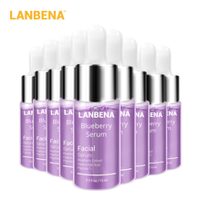 LANBENA Blueberry Serum Essence Oil Moisturizing Reduces Fine lines Whitening An