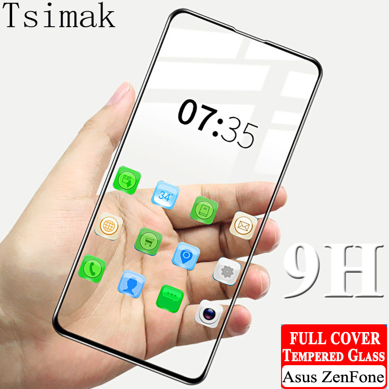 Tempered Glass For Asus Zenfone 6 ZS630KL Max M2 ZB631KL ZB633KL ZB634KL ZA551KL ZS620KL ZE620KL 5 Lite ZC600KL Screen Protector
