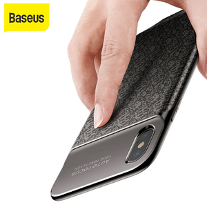 Image 1 - Baseus 3500mAh Power Bank Charging Case  For iPhone X Ultra Slim Battery Charger Case  for iPhone X Power Bank Charger Case