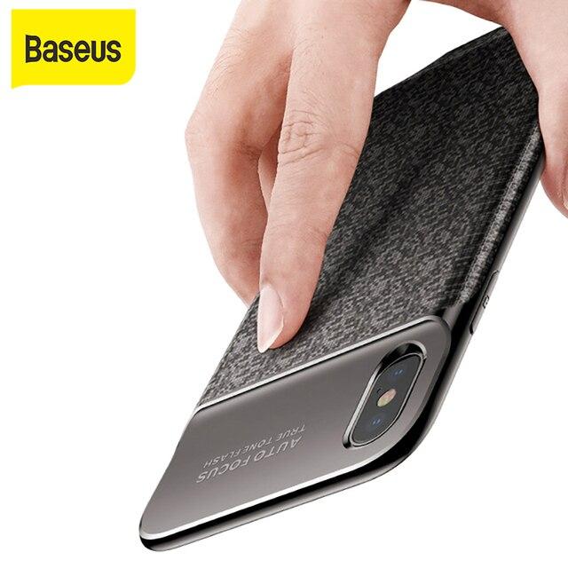 Baseus 3500mAh Power Bank Charging Case  For iPhone X Ultra Slim Battery Charger Case  for iPhone X Power Bank Charger Case