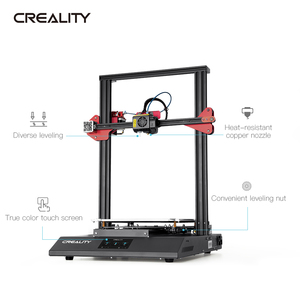 Image 3 - CREALITY 3D Printer CR 10S Pro V2 with BL Touch Auto Level, Touch Screen, with Capricorn PTFE