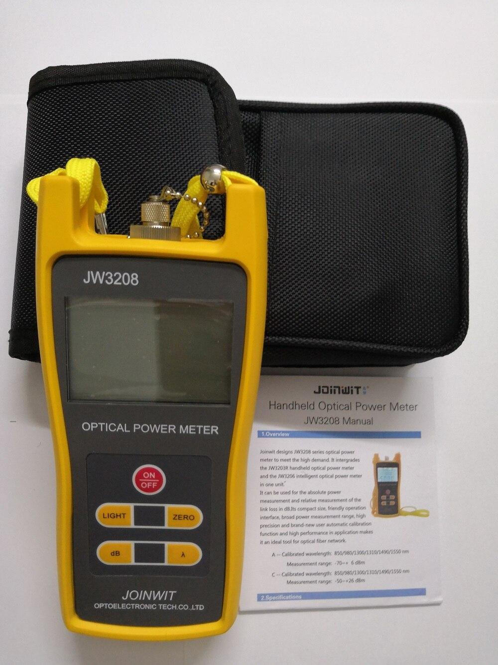 JoinWit JW3208 волоконно оптический измеритель мощности с разъемом LC FC SC ST - 5