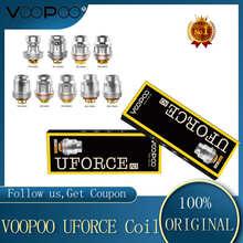 5 sztuk paczka nowy VOOPOO UFORCE U2 N3 P2 N1 N2 U4 U6 U8 D4 cewka dla Voopoo przeciągnij zestaw Voopoo przeciągnij Mini VS IJOY X3 cewki tanie tanio VOOPOO UFORCE Coil VOOPOO Tank DS NC Voopoo Drag 2 Kit Voopoo Drag Mini Kit Voopoo Uforce T1 Vape Tank rated for 40-80W