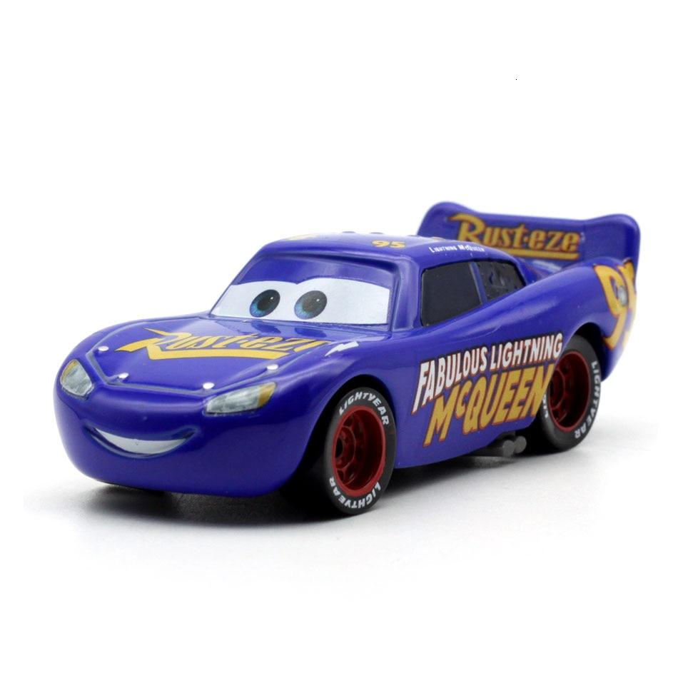 Disney Pixar Cars 3 21 стиль для детей Джексон шторм Высокое качество автомобиль подарок на день рождения сплав автомобиля игрушки модели персонажей из мультфильмов рождественские подарки - Цвет: 33