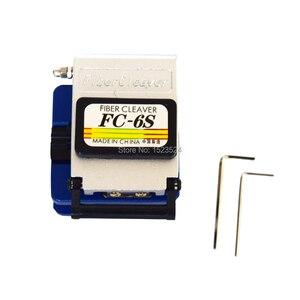 Image 3 - 12 pçs/set FTTH Kit de Ferramentas De Fibra Óptica com Fibra Cleaver  70 ~ + 10dBm Medidor de Potência Óptica Visual de Falhas Lcator 5km