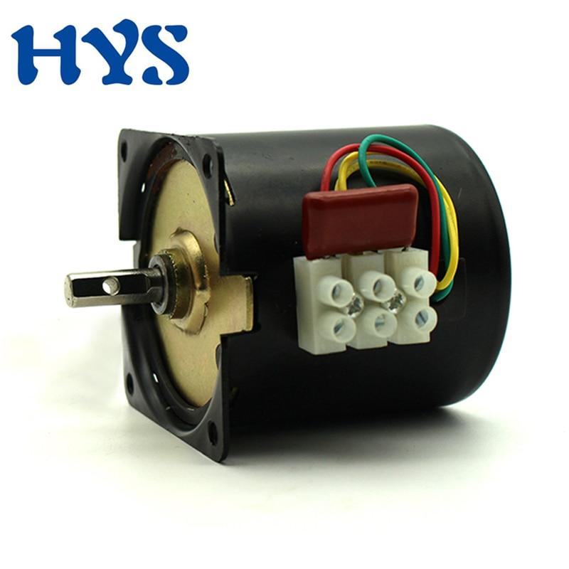 60KTYZ-Gear-Motor-2-5-5-10-15-20-30-40-60-80-110-RPM-Low
