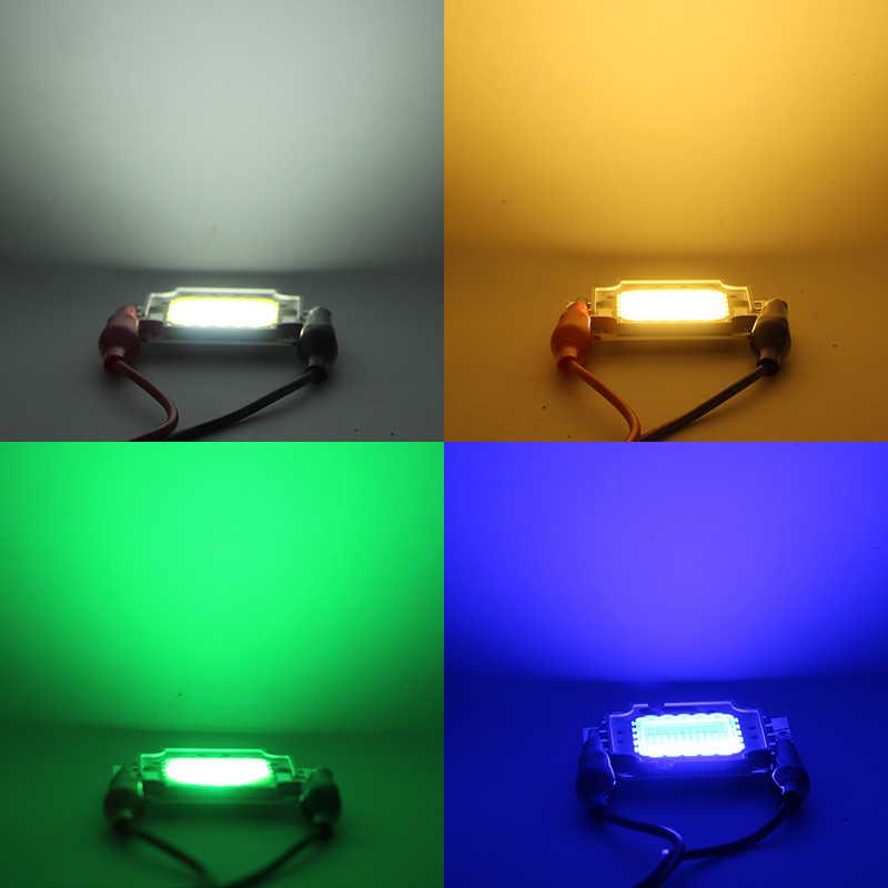 O diodo emissor de luz da microplaqueta conduziu diy a luz da lâmpada 10 w 20 w 30 w 50 w 100 w para o projector conduzido do projector 10 w dc 9-12 v 20 w 30 w 50 w 100 w 30-36V