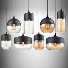 Nordic Fashion LED Pendant Lights Glass Pendant Lamp Table Bar Living Room Restaurant  Lighting Hanging Lamp Kitchen Fixtures недорого