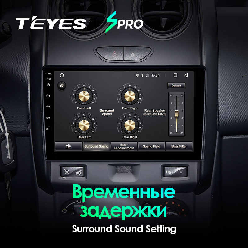 Teyes Spro Voor Renault Duster 2015 2016 2017 2018 Auto Radio Multimedia Video Player Navigatie Gps Android 8.1 Geen 2din 2 Din Dvd