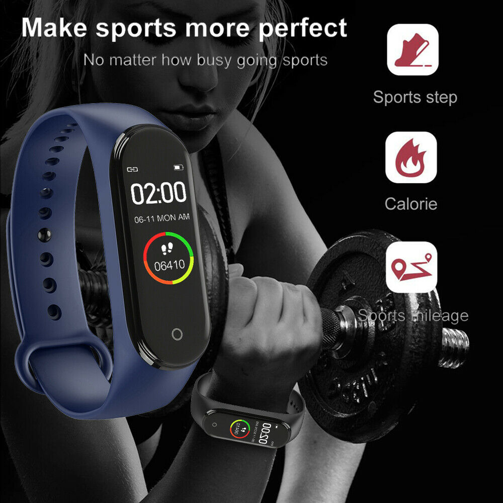 New Hgh Quality New label M4 Intelligent  watch Heart Rate Monitor For Men And Women