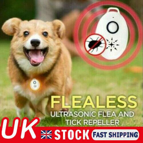 Hot SALE Ultrasonic Flea Tick Repeller For Pet Dog Cat CARE