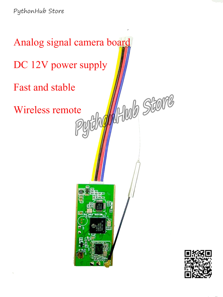 AV to Wifi Video Image Transmitter Analog Signal Camera Wireless Remote Monitoring Module