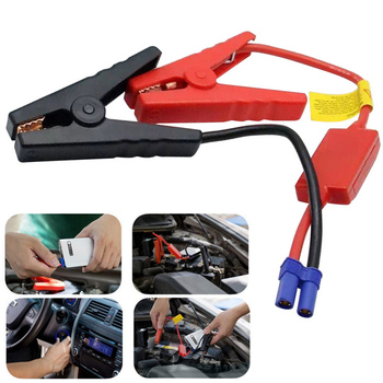 Hot Automotive Emergency Battery Jumper Cables Replacement Jump Box Cables Battery Clips EC5 Connector 12V Clips image