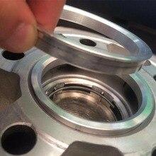 4pcs Rings 73.1mm OD To 64.1mm ID Car Aluminium Alloy Spigot Universal Wheel Practical