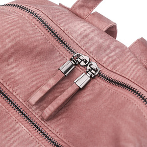 Image 5 - Leather Backpack Women Shoulder Bag Vintage Bagpack Travel Backpacks For School Teenagers Girls Back Pack Women Mochila Feminina