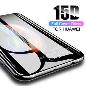 Image 3 - 15D Volledige Gebogen Beschermende Glas Voor Huawei P30 P20 Lite Pro 9h Gehard Glas Screen Protector Op P20 P30 lite Mate 20 Lite 20X