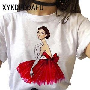 Модная женская футболка 90s Tumblr с принтом, модная футболка Ulzzang, эстетическая Футболка Harajuku с круглым вырезом, топы, футболки, женская повседневная одежда