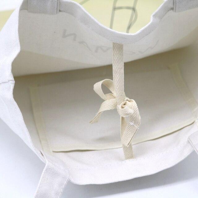 Youda Original Simple Women Bag Elegant Canvas Handbags Fashion Ladies Shoulder Bags Casual Shopping Tote Cute Girls Handbag 4