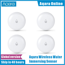 In stock Original Aqara IP67 Water Immersing Sensor Flood Water Leak Detector For Home Remote Alarm Security Soaking Sensor