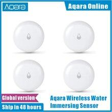 Aqara ip67 sensor de água doméstico, original, detector de vazamento ou inundação de água, para casa, com alarme remoto, segurança