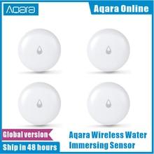 Stokta orijinal Aqara IP67 su batırma sensörü taşkın su kaçağı dedektörü için ev uzaktan Alarm güvenlik iliklerine sensörü