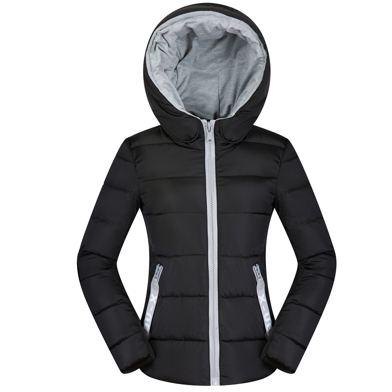 2019 New Winter Spring   Jacket   Women Padded Cotton Parkas Casual Thin Light   Basic     Jackets     Jacket   Women Autumn Hooded Coat Female