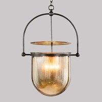 Kreatywność szkło wisiorek światła restauracja lampy wiszące sztuki badania lampki nocne sypialnia kawiarnia projektant światła wiszące w Wiszące lampki od Lampy i oświetlenie na