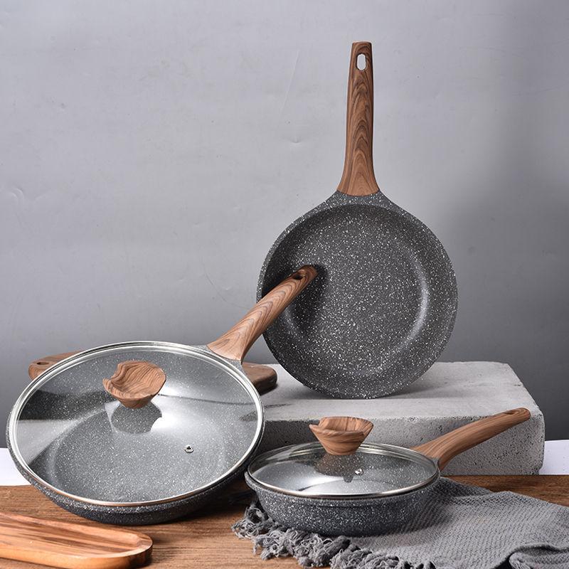 Frying Pan Non-stick Pan Wok Western Steak Frying Pan Induction Cooker Gas Stove Universal Cast Iron Pan  Frying Pan Cooking Pot